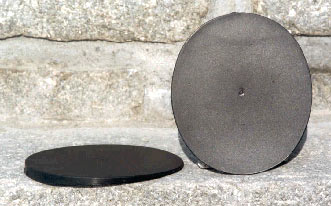 Castle Plastic Degree Oval Pads