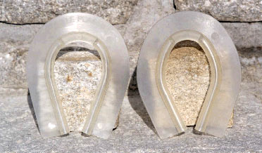 Castle Plastics Hind Rim Snow Clear Pads