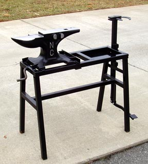 Anvil Stand with Vise-Rigid Model